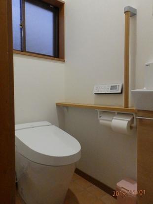 使いやすさ向上♪ 和式→洋式トイレ