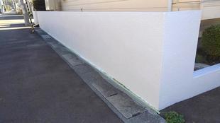 I様邸 ブロック塀塗装工事
