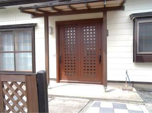 K様邸 屋根外壁塗装・玄関ドア・勝手口交換