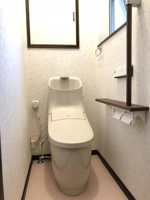 見た目スッキリ!使い勝手も抜群トイレ!