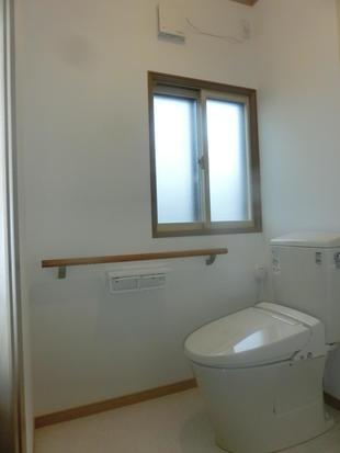 トイレを広々バリアフリー化!!