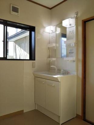 洗面脱衣室、トイレリフォーム工事