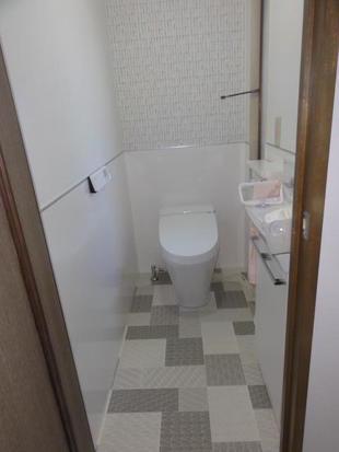 トイレ、浴室、洗面脱衣室改装工事