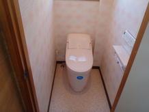 温かみのあふれるトイレ