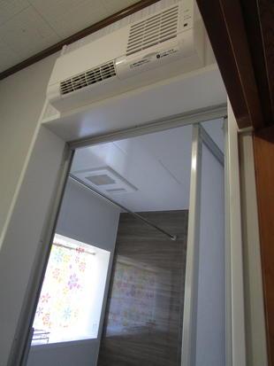 浴室・脱衣所・暖房設置
