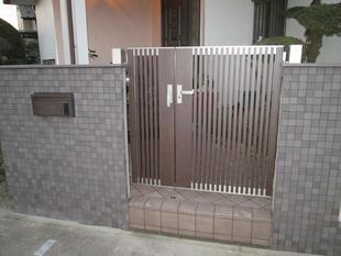 門扉のリフォーム