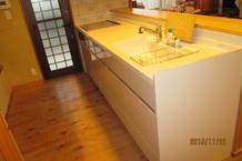 幸せを呼ぶ黄色のキッチン