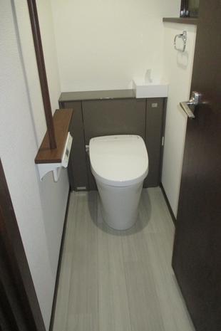 おしゃれなトイレへ