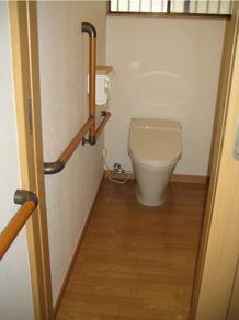 介護しやすいトイレに