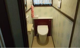収納付きトイレ「リフォレ」で空間スッキリ