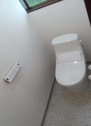 キレイが続くトイレ