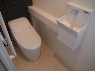 トイレリフォーム(手洗いカウンター付)