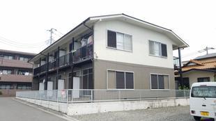 外壁塗装 所沢市山口 古さを塗装塗り分けでリニューアルした木造アパート
