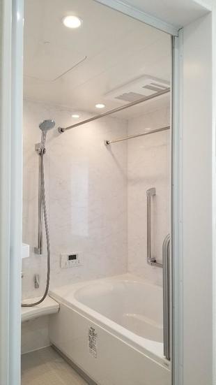 所沢市 鉄筋コンクリート造の寒いタイル浴室をシステムバス化!
