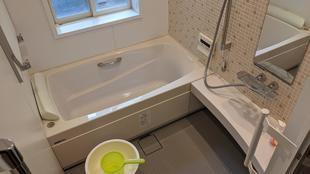 所沢市上山口 鉄筋コンクリート造の寒いタイル浴室をシステムバス化!
