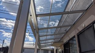 所沢市荒幡 住宅以外でもテラス工事など承ります!
