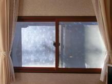 インプラス(内窓)を付けて、寒い朝もあったか