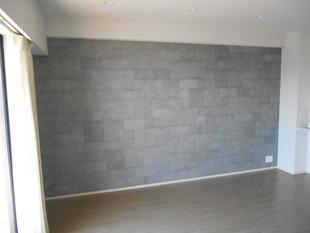 新築マンション室内にエコカラットを貼りました