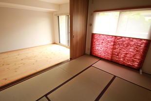 無垢フロアと水廻り改修工事&防音対策兼ねての全室インプラス