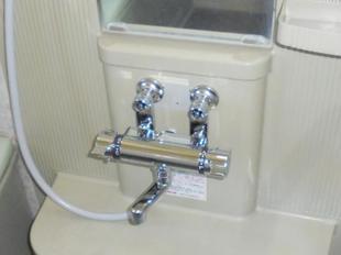 春日部市 浴室水栓交換