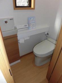 手洗いカウンター付トイレ