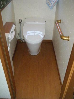 江戸川区:タンクレストイレに交換 トイレリフォーム