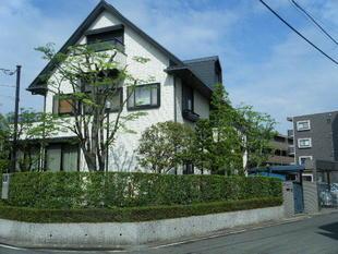 市川市:邸宅の庭や生け垣の手入れ