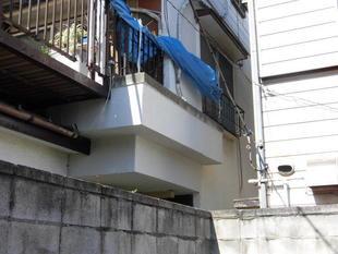 江戸川区 劣化して崩落した外壁を修繕リフォーム