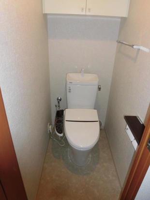 市川市 独特なデザインでスタイリッシュなトイレリフォーム
