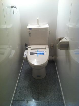 押入れがトイレに!