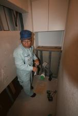 専属の大工さんは大工歴50年のベテラン