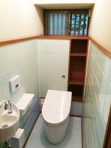 和式トイレを洋式トイレに