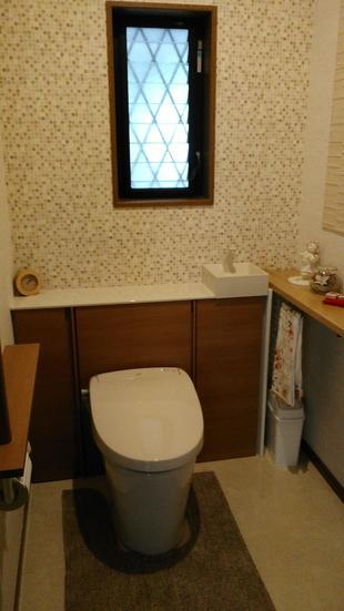 長居したくなるトイレ