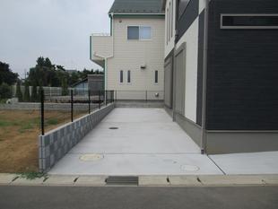 シンプル・フリーの車庫スペース