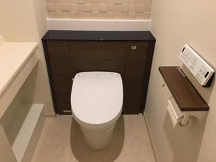 キャビネット付きトイレ 『リフォレ』