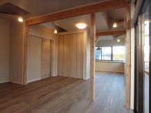 都心の築30年の木造住宅リフォーム
