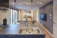 まるごとリノベーションして、あこがれのオープンキッチンに。