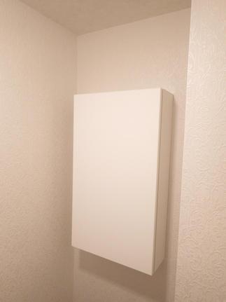 リフォーム後のトイレ背面収納
