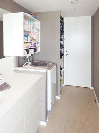 リフォーム後の洗面化粧室