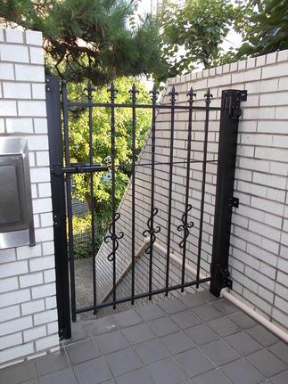 リフォーム後の門扉