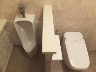 リフォーム後のトイレ&小便器