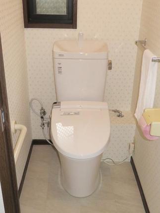 リフォーム後の2階トイレ