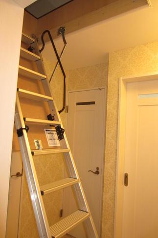 リフォーム後のはしご
