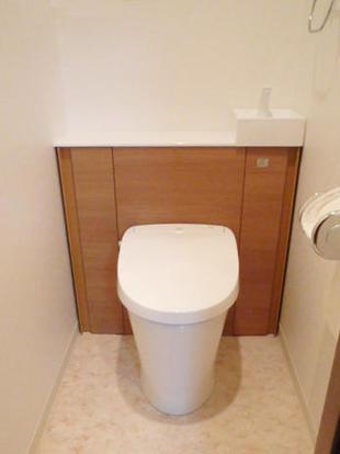 収納一体型トイレLIXILリフォレにお取替え 品川区O様邸