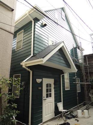 文京区本駒込の屋根・外壁塗装リフォーム