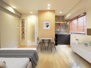 品川区西五反田 I様邸 シンプルだけど細部のデザインにこだわったワンルーム