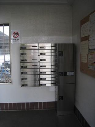 板橋区 集合住宅宅配ボックス取付工事