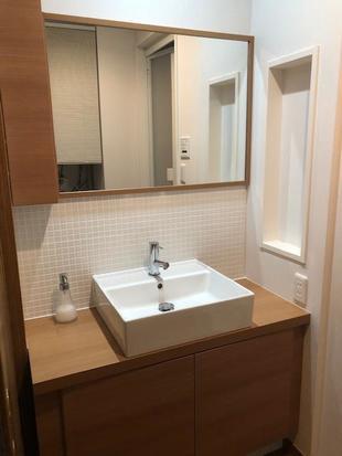 戸建て洗面、浴室交換
