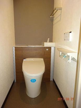 八王子市S様邸 機能的なすっきりトイレに!