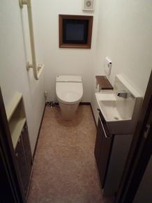 S様邸 快適に過ごせるトイレ空間